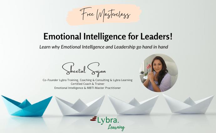 Emotional Intelligence for Leaders!